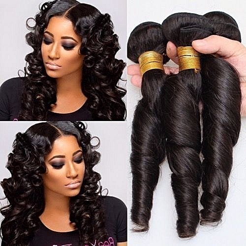 Brazillian Style Romance Curls Hair - COL.1b/ 6Bundles