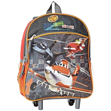 Little Boys  039  Planes 12-Inch Mini Rolling Backpack 900404ef3e38a