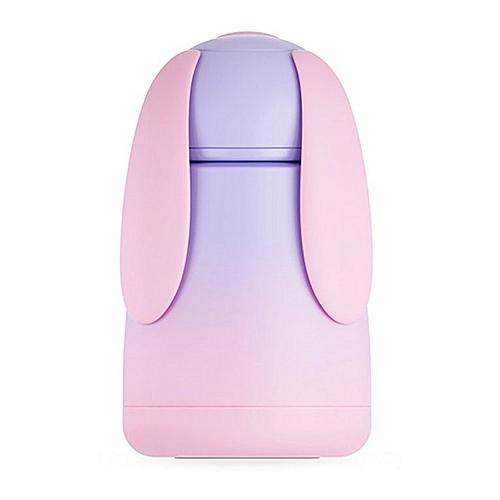 Gradient Cartoon Big Eared Dog Vacuum Flask 304 Stainless Steel Drinks Bottle Pink