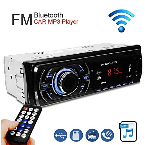 Car Stereo Audio Bluetooth In-Dash FM Aux Input Receiver TF/USB/MP3 Radio Player