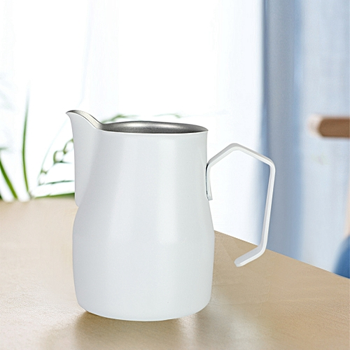 350ml Stainless Steel Milk Frothing Coffee Pitcher Jug For Coffee Shop