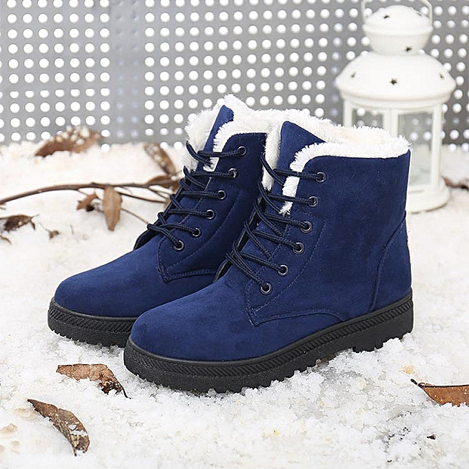 ab2a8e517ff Hiamok_New Classic Women's Warm Shoes Snow Boots Fashion Winter Short Boots  BU 38