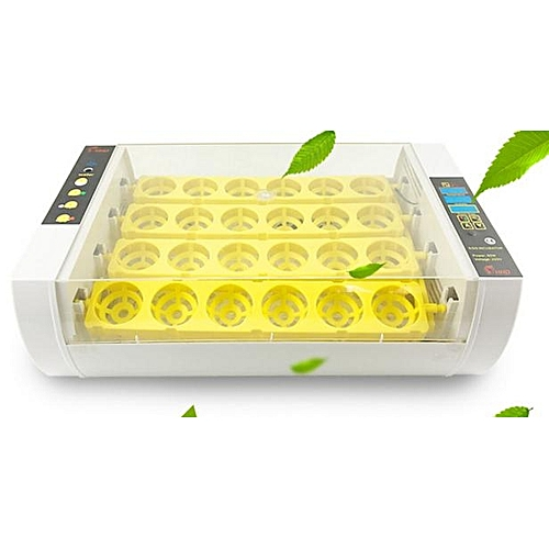 24 Eggs Incubator Temperature Control Digital Automatic Chicken Chick Duck Hatcher