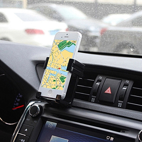 Car Outlet Cell Phone Holder, For IPhone, Galaxy, Huawei, Xiaomi, LG, HTC And Other Smart Phones