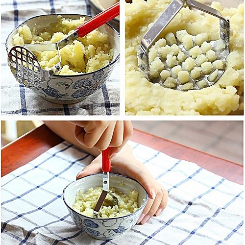 Stainless Steel Potato Mashers Ricers Garlic Mud Pressure Puree Tool