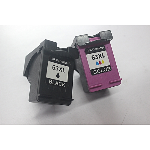Sunjoy 63XL Black Tri-color Inkjet Print Ink Cartridges New