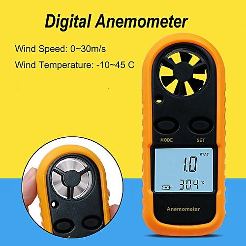 Anemometer Anemoscope Wind Speed Meter Gauge Tools 0-30m/s
