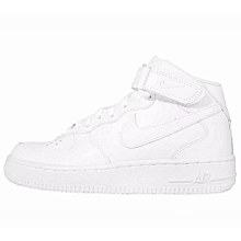 new product ef164 6d26e Nike Women Air Force 1 Mid 07 LE White 366731-100