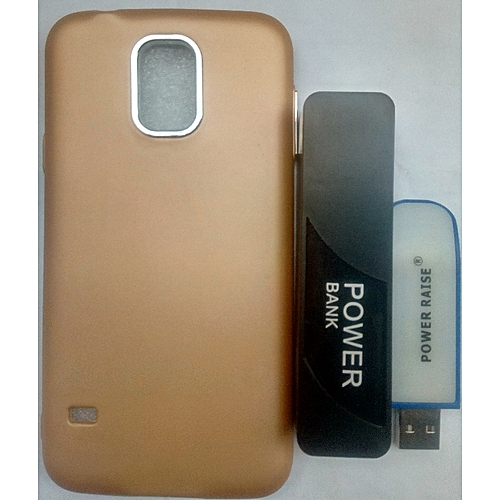 newest e17b0 03bc2 Samsung Galaxy S5 Case + Free Power Bank & Light Stick