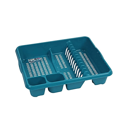 Dish Drainer - Teal Green