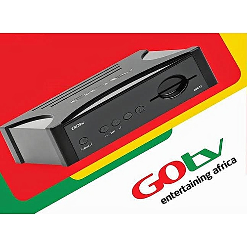 GOTV DECODER ONLY + ADAPTER + 1 MONTH GOTV MAX SUBSCRIPTION With Free Av Cable