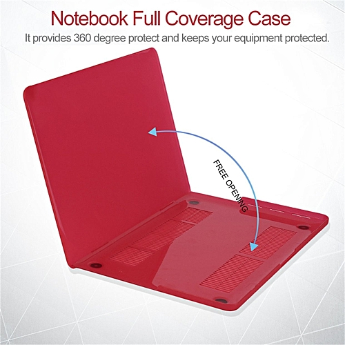GB Notebook Full Coverage Laptop Sleeve Case Suitable For Macbook Pro Retina13-transparent