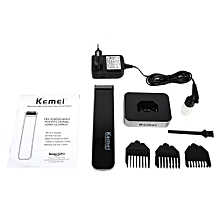 Portable Men's Electric Shaver Hair Clipper Trimmer Rechargeable Barbering Machine(Black