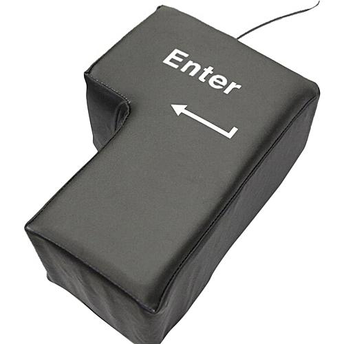 Big Enter Pillow USB Big Enter Key Office Desktop Nap Pillow Vent Pillow