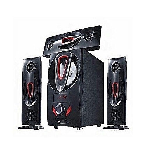 Jiepak Heavy Duty Home Theatre System With Bluetooth JP-D5