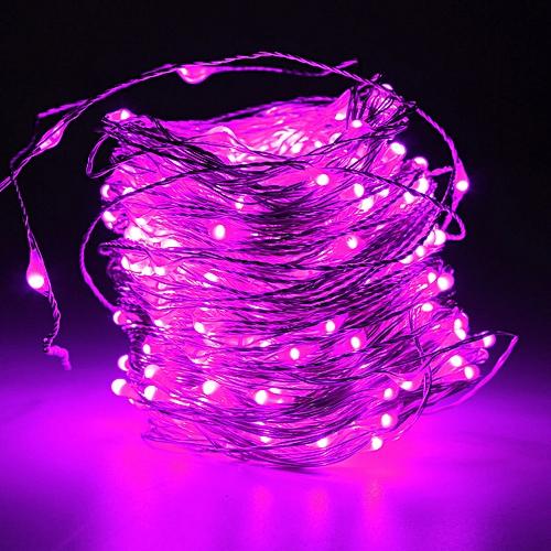 400 LED 40M 16W String Fairy Lights Silver Wire Party Xmas Wedding UK Plug