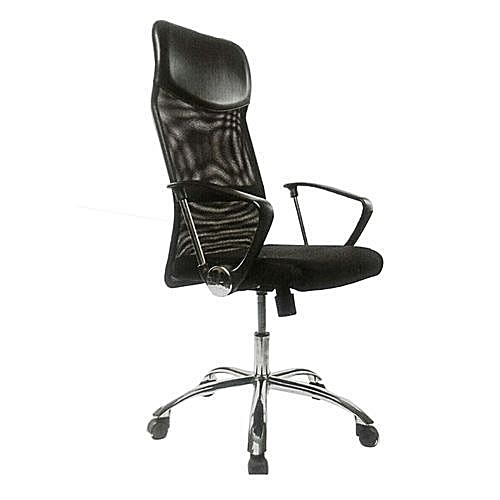 Genoxpek High Back Mesh And Fabric Net Swivel Office Chair