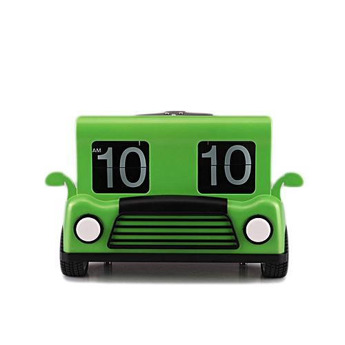 Truck Front Flip Clock - Green