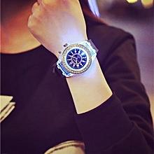 HOT Waterproof Quartz Wrist Watches LED Backlight Sport-Blue for sale  Nigeria