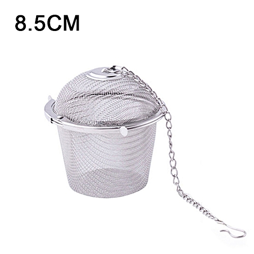 Practical Tea Ball Herbal Spice Strainer Mesh Filter Stainless Steel Infuser