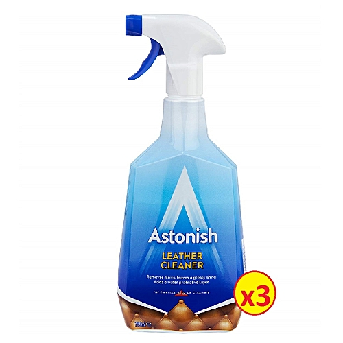 Leather Cleaner 750ml × 3pcs