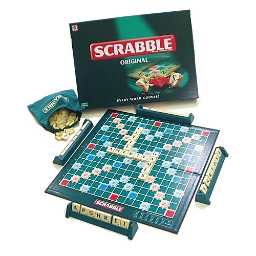 Intellectual Scrabble Game Set