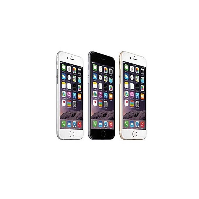 IPhone 6 4 7-Inch Fingerprint Sensor HD (1GB, 16GB ROM) IOS 1 2 8MP+7MP  Smartphone–Gold