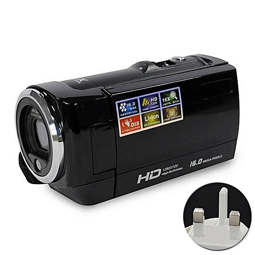 Video Camera 720P Portable HD Resolution Video Digital LCD Screen 16x Digital Zoom Multifunctional #3 LIEGE