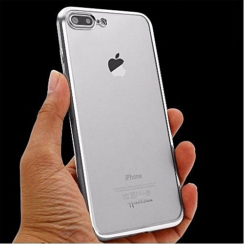 218c520ccc1 Generic Transparent Back Case For IPhone 7 Plus + 3D Full Screen Protector
