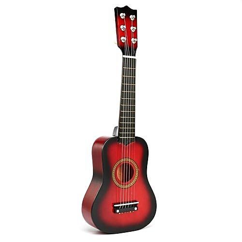Children's Wooden Acoustic Guitar Gift Children 6 String Kids Music Toys