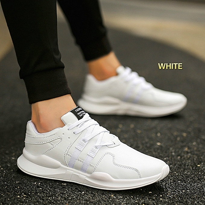 New Stylish Casual Men's Sports White Shoes