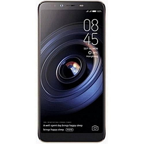 Camon X Pro (CA8) 6-Inch FHD (4GB, 64GB ROM) Android 8 1 Oreo, 16MP + 24MP  Dual SIM 4G Fingerprint Smartphone - Black