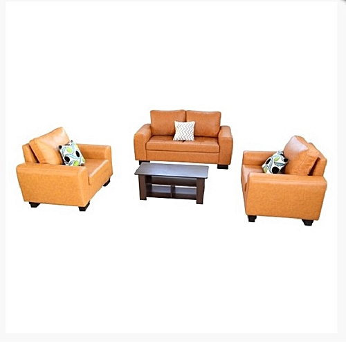 7 Seater Leather Sofa(Delivery Within Lagos Only)