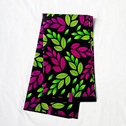 Exotic Leafy Design Ankara Fabric