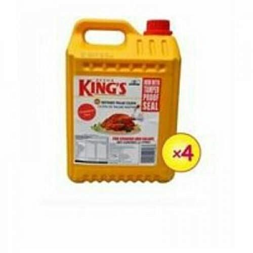DEVON KING'S 4 Jars Of Vegetable Oil