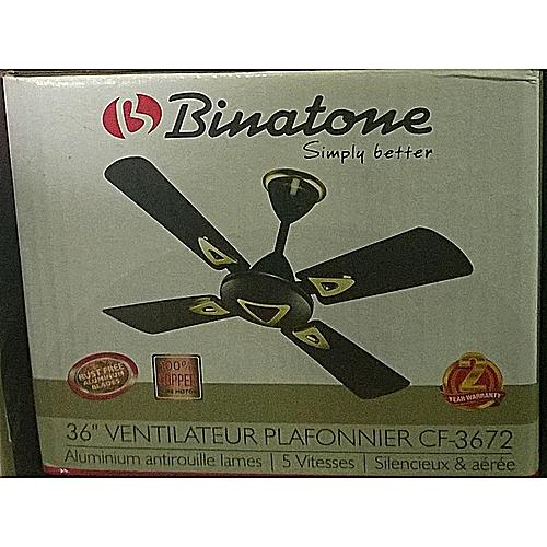 36″ Ceiling Fan CF-3672 BROWN