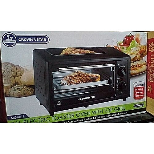 Electric Oven+Baking+Grilling - 11Ltr