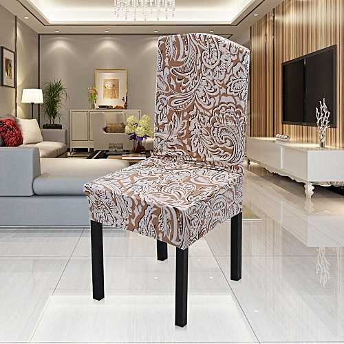 Spandex Stretch Chair Covers Seat Slipcovers Print Chinese Element Pattern #5