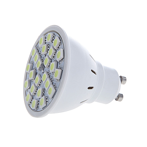 GU10 5W 24SMD 5050 LED Light Bulb Lamp Spotlight White 220V