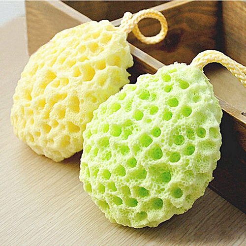 Honana BX Bath Ball Mesh Cleaning Brushes Sponge Bath Accessories Body Wisp Natural Sponge