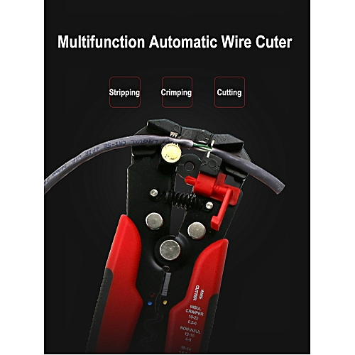 Multifunction Wire Cable Cutter Crimper Stripper Pliers