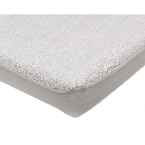 Water Proof Mattress Protector - White