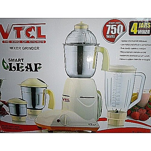 Blender Mixer And Grinder Set - 750watts