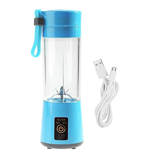 400ML Portable USB Rechargeable Plactic Juicer Fruit Juice Extractor Blender