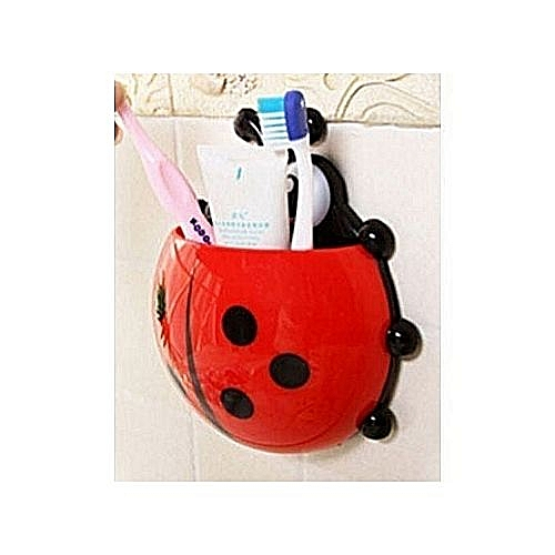 TOOTH BRUSH HOLDER / LADY BUG TOOTH BRUSH HOLDER
