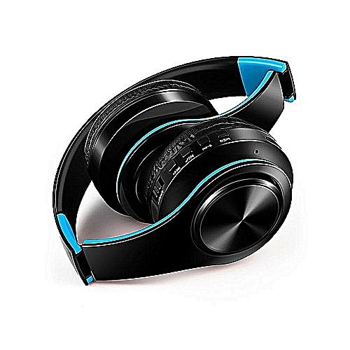 Wireless Headphones Bluetooth Headset Adjustable—black