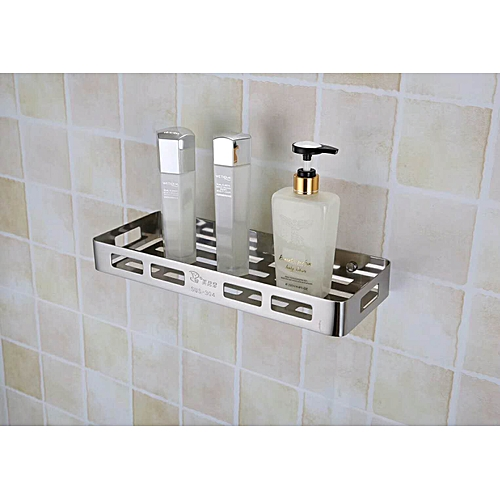 Stainless Steel Bathroom Shelf Wall Mounted Corner Basket