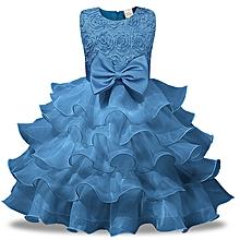 2e62de4cbf Nice Children Dress Skirt Rose Beautiful Girls Princess Dress
