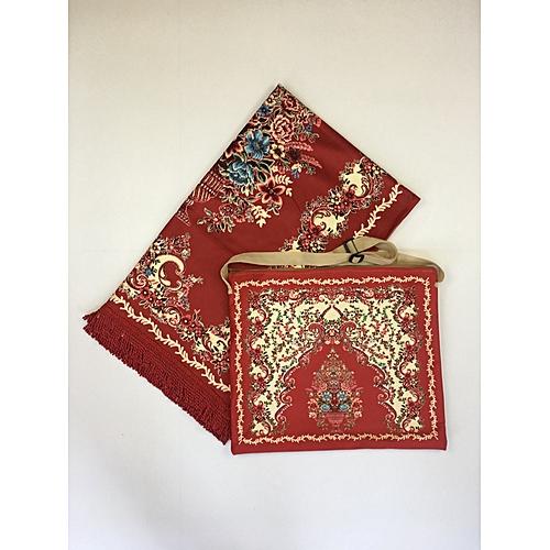 Muslim Prayer Mat With Bag For Travel Bag Prayer Mat ,Islam Prayer Rug With Bag Sets HGP-013 3D Print