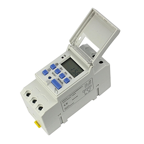 Haojks-15A 220V Digital LCD Weekly Programmable Timer Time Relay Switch